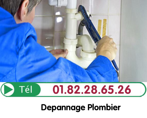 Canalisation Bouchée Chessy 77700